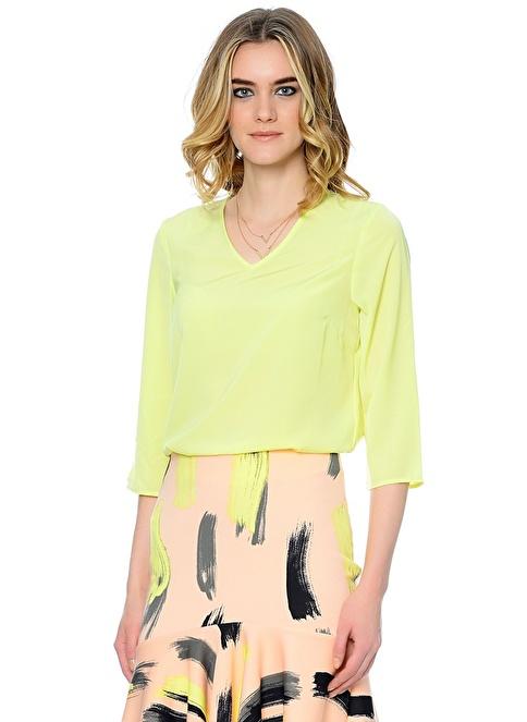 Vero Moda Şifon Bluz Yeşil